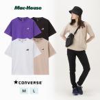 CONVERSE コンバース Tシャツ 半袖 半袖Tシャツ クルーネック レディース ブランドロゴ