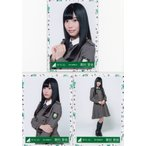 欅坂46 東村芽依 けやき坂46(ひらがなけやき)3rdシングルオフィシャル制服衣装 生写真 3枚コンプ