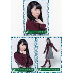 欅坂46 米谷奈々未 3rdシングルオフィシャル制服衣装 生写真3枚コンプ