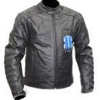 激シブ 完全防備UKシングルライダースジャケット黒  本革 柔らかいバッファローレザー採用
