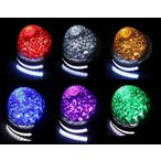 防水 LED 16連バスマーカーランプ 12-24V兼用 ダウンライトSMD10連付 各色