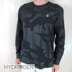 ハイドロゲン HYDROGEN メンズ Tシャツ 長袖 カットソー 284639/857/ ブラック 黒カモ サイズ:S/M/L/XL/XXL/3XL
