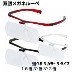 メガネルーペ 双眼ルーペ 1.6 2.0 2.3 HF-60D HF-60E HF-60F