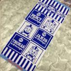 フェイスタオル(きかんしゃトーマス/ライトオンタイム/ブルー)約34×80cm ) 無撚糸 保育園入学入園  機関車トーマス