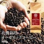 有機栽培 オーガニック ブラジル コーヒー 豆 100g 国内 自社焙煎 深煎り ミル用 有機JAS認定 珈琲 コクと甘みのバランス フェアトレード商品