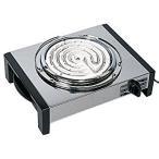 日本製 電熱器 ( 電気コンロ ) キャンプ ・ アウトドア や 燻製 調理に! 300Wと600W切り替え式