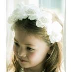 【キャサリンコテージ】真っ白な花冠♪フラワーカチューシャ