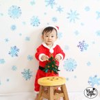 ウォールステッカー クリスマス 飾り スノークリスタル