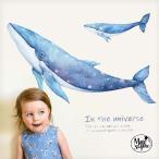 ウォールステッカー はがせる シール 壁紙 【 クジラの夢 】飾り