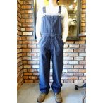 ヘッドライト HEADLIGHT 8oz. SPECIAL WOVEN STRIPE DENIM LOW BACK OVERALL HD41631 [A.NAVY]