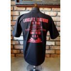 ラングリッツレザーズ Langlitz Leathers  S/S Tee Type LL253 [ブラック×レッド]
