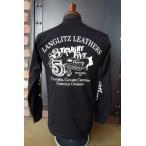 ラングリッツレザーズ Langlitz Leathers TYPE LL294 Long Sleeve Tee BLACK