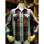 デラックスウエア/Deluxeware ネルシャツ HVS-29...BULL TRICO