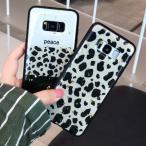 Galaxyレオパード豹柄キラキラスマホケースギャラクシー s8 s8plus s9 s9plus s10 s10plus Note8 Note9 Note10 Note10plus