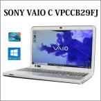 ノートパソコン ノートPC 中古パソコン SONY 15.5型 VAIO Cシリーズ VPCCB29FJ Core i5 4GB 640GB ブルーレイ 無線LAN Windows10