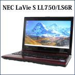 ノートパソコン ノートPC 中古パソコン NEC 15.6型 LaVie L LL750/L Core i7 8GB 1TB ブルーレイ 無線LAN Windows10