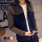 マウンテンパーカー メンズ ジャケット ナイロンジャケット ブルゾンジャンパー メンズファション 全4色 秋冬新作