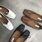 フラットシューズ パンプス ぺたんこ靴 カジュアルシューズ レディース シューズ 歩きやすい 痛くない 履きやすい 通勤 シンプル