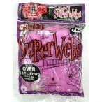 クモの巣ピンク60gスパイダーウェブハロウィン装飾