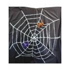スパイダーネットホワイトハロウィン装飾クモの巣白
