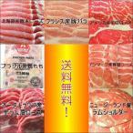 送料無料 世界のお肉7ヶ国食べ比べセット 4.2kg+ジンギスカンのタレ