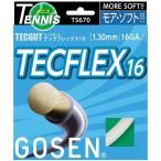 【送料無料】GOSEN(ゴーセン) テックガット テックフレックス16 コーラルピンク TS670CP