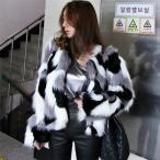 コート レディース 冬 40代 毛皮 コート ファーコート 韓国風 エコファー コート 大きいサイズ 毛皮 コート 暖かい アウター ショート丈 上品 オシャレ