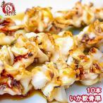 いか軟骨串 10串 海鮮串(BBQ バーベキュー)
