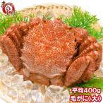 毛ガニ 毛がに 毛蟹 浜茹で 毛ガニ姿 平均 400g ×1尾 かに カニ 蟹 かに鍋 焼きガニ