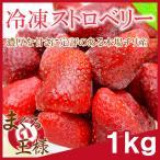 冷凍ストロベリー 1kg 500g×2 苺 冷凍フルーツ ヨナナス