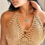 ターコイズ ゴールド ネックレス [Customized Jewelry