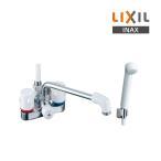 【ポイント最大 10倍】水栓金具 INAX BF-M606 シャワーバス デッキ・シャワータイプ 2ハンドル ミーティス 逆止弁付 乾式工法 一般地 [☆◇]