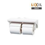 【ポイント最大 10倍】紙巻器 INAX CF-AA64/BW1 ピュアホワイト 棚付2連紙巻器 [☆◇]