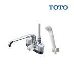 【ポイント最大 10倍】TOTO  TMS26C 2ハンドルシャワー水栓・一般シリーズ・台付タイプ・スプレー(節水) [☆]