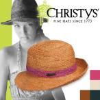 クリスティーズ ハット スタントン CCS748 CHRISTYS' HAT STANTON クラウン CROWN ストローハット カンカン帽