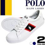 ポロ ラルフローレン Polo Ralph Lauren スニーカー レディース 白 紺 靴 歩きやすい ブランド EASTEN GEOFF