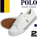 ポロ ラルフローレン Polo Ralph Lauren スニーカー キャンバス シューズ ローカット メンズ おしゃれ ブランド 白 ホワイト ネイビー Geffrey