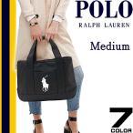 ポロ ラルフローレン トートバッグ Polo Ralph Lauren ビッグポニー キャンバス トート バッグ School Tote Medium