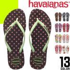 ハワイアナス スリム ビーチサンダル レディース 痛くない 歩きやすい サンダル ペタンコ 小さいサイズ 可愛い 旅行 ブランド havaianas SLIM ANIMALS
