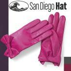 ショッピング細身 サンディエゴハット San Diego Hat レディース リボン レザーグローブ CTG2012 メール便発送
