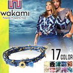 팔찌 - ワカミ wakami ブレスレット アンクレット メンズ レディース  ラップブレスレット ミサンガ ブランド Long Wrap Bracelet
