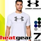アンダーアーマー UNDER ARMOUR Tシャツ メンズ ヒートギア 半袖 ロゴ ランニングウェア スポーツウェア 大きいサイズ コーディネート
