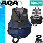 AQA エーキューエー ライフジャケット レディース メンズ 女性 釣り シュノーケリング ベスト KA-9020