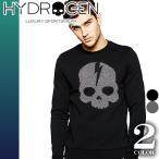 ハイドロゲン セーター ニット メンズ トップス 長袖 厚手 ドクロ スカル ブランド Hydrogen 230800