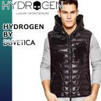 ハイドロゲン デュベティカ ダウンベスト メンズ ブランド フード カジュアル 大きいサイズ 防寒着 HYDROGEN DUVETICA 23D002