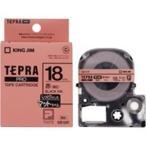 送料無料 (業務用3セット)キングジム テプラ PROテープ/ラベルライター用テープ 〔マット/幅:18mm〕 SB18R レッド(赤)