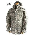 アメリカ軍 ECWC S-1ジャケット/ゴアテックス風パーカー 〔 Mサイズ 〕 透湿防水素材 JP041YN ACU カモ( 迷彩) 〔 レプリカ 〕