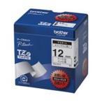 送料無料 (業務用5セット) brother ブラザー工業 文字テープ/ラベルプリンター用テープ 〔幅:12mm〕 5個入り TZe-231V 白に黒文字