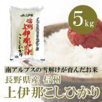 長野県産  信州上伊那のお米 こしひかり 5kg 白米 通販 アルプスの雪どけ水が育んだ美味しい特A米  レビューを書いて 送料無料