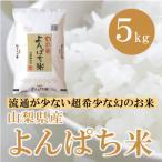 山梨県産  よんぱち米(農林48号) 5kg   白米 通販 市場に流通しない、まさに幻といわれる贅沢な味わいをお試し下さい。